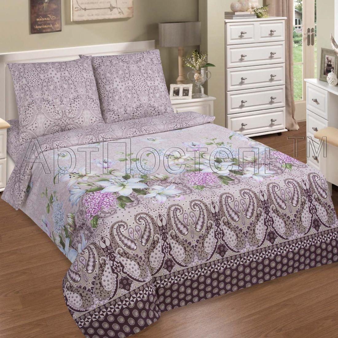 Сантимент — комплект постельного белья, 1.5 спальный (полутороспальный), поплин, Артпостель
