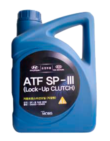 Трансмиссионное масло Hyundai-KIA ATF SP3 4л (04500-00400)