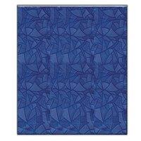 Скатерть ПВХ синяя 120x180 см