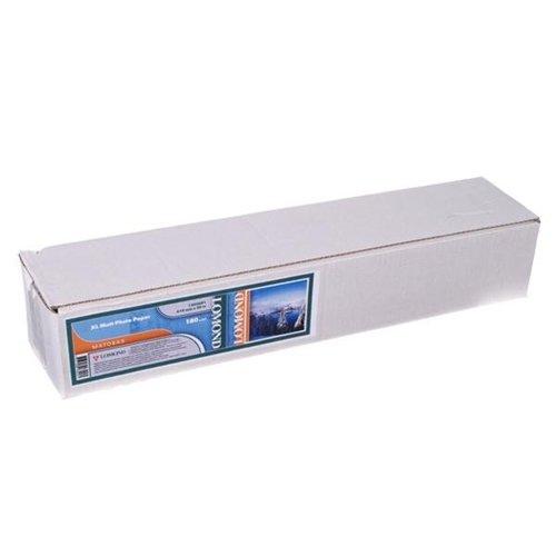 Бумага LOMOND XL Matt Paper, ролик 610мм*50, 8 мм, 180 г/м2, 30 метров.