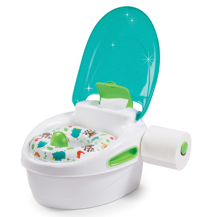 Горшок Summer Infant Горшок 3 в 1 Step-By-Step Potty бирюзовый