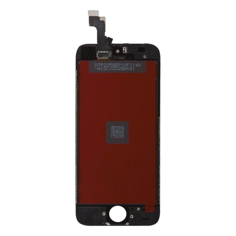 Дисплей с тачскрином LP для Apple iPhone 5S/SE,(яркая подсветка) 1-я категория, класс AAA (черный)