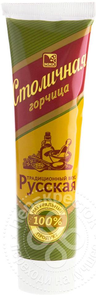 Горчица МЖК Столичная Русская 100г