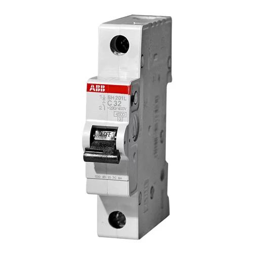 Автоматические выключатели серии ABB SH 1 полюсный (ABB SH 201L C40)