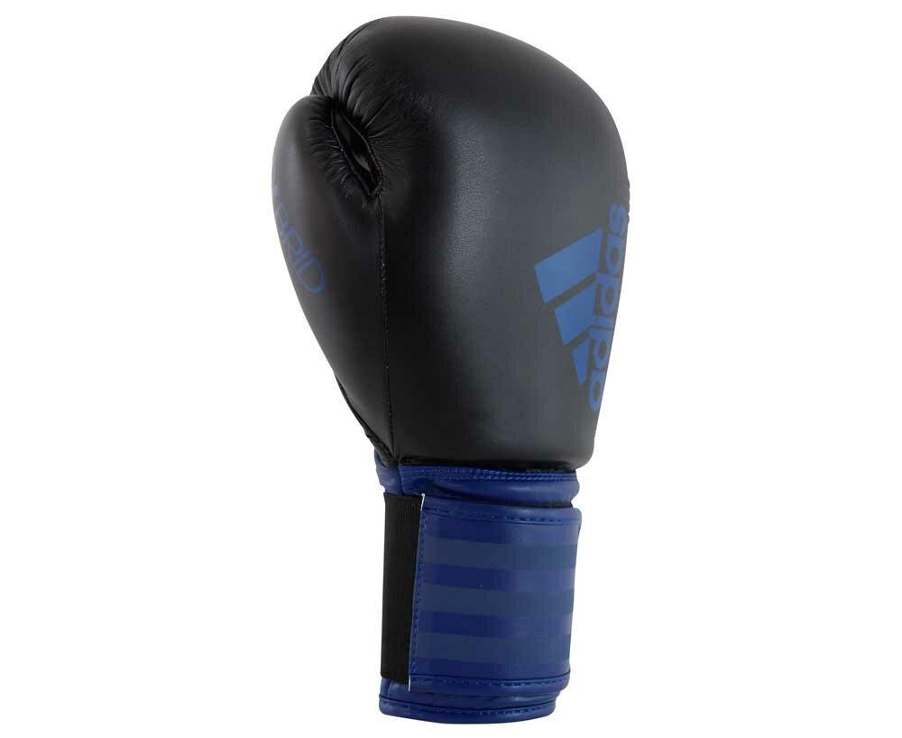 Перчатки боксерские Hybrid 100 черно-синие (вес 14 унций)