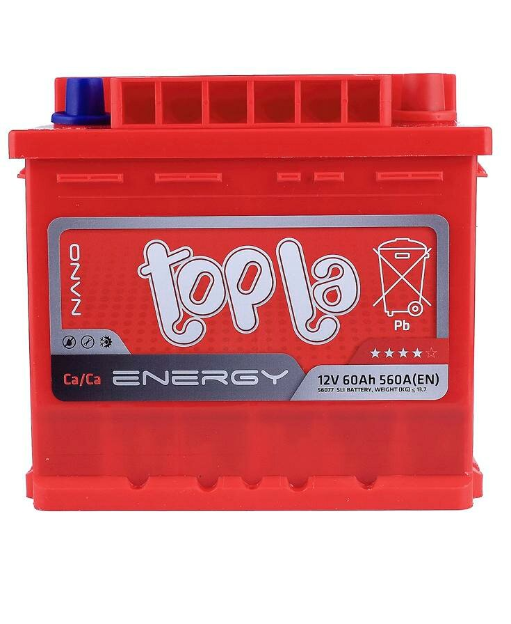 Автомобильный аккумулятор Topla 108460 60A/h 560A