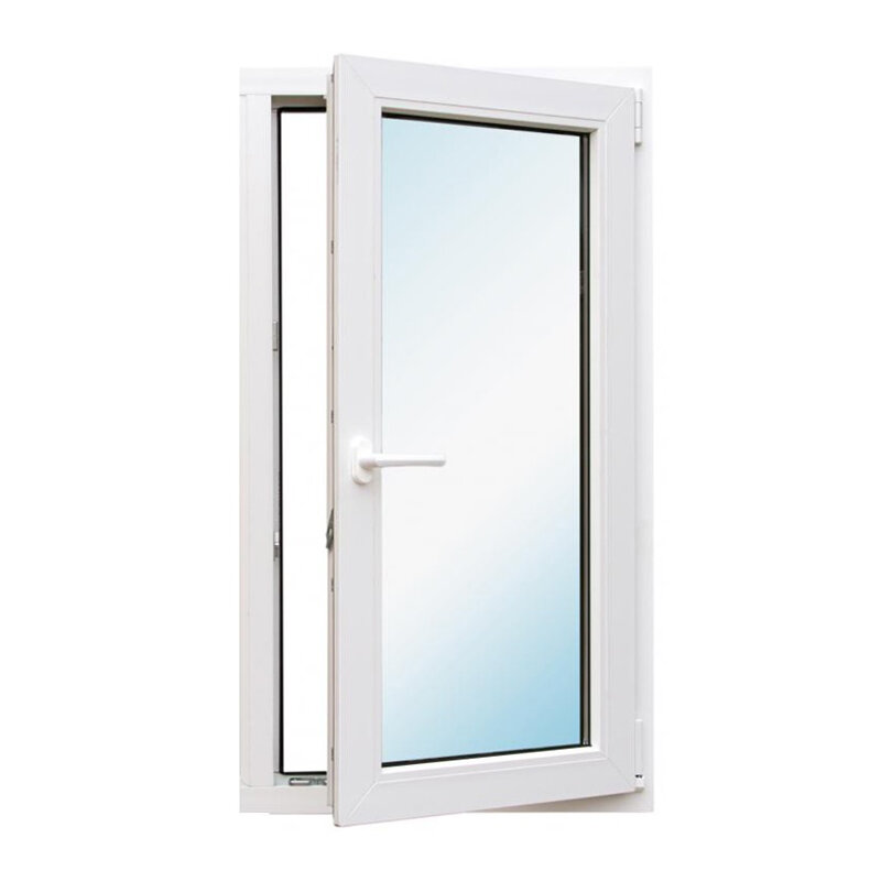 Окно металлопластик., 1160х720 мм, поворотно-откидное, правое