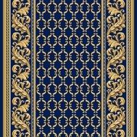 Витебские ковры Ковровая дорожка полушерстяная PALACE BLUE 1x4 м.