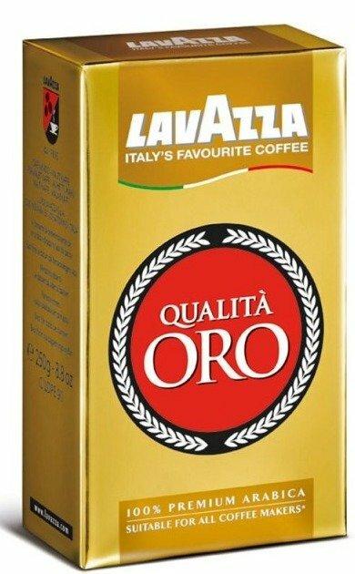 Кофе молотый Lavazza Qualita Oro вакуумная упаковка 250 г