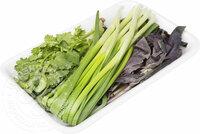 Набор зелени Базилик кинза лук 100г упаковка