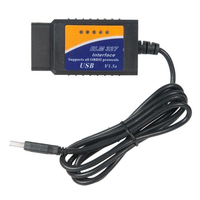 Автосканер для диагностики автомобиля ELM327 usb v.1.5 obd2