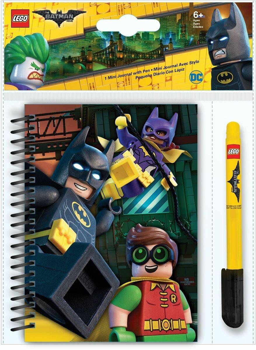 Блокнот 100 листов LEGO Бэтмен