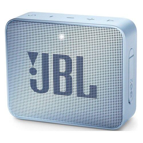 Портативная колонка JBL GO 2, 3Вт, голубой [jblgo2cyan]