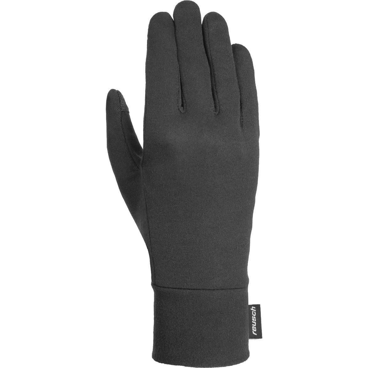 Перчатки Горные Reusch 2019-20 Silk Liner Touch-Tec™ Black (Inch (Дюйм):6,5)