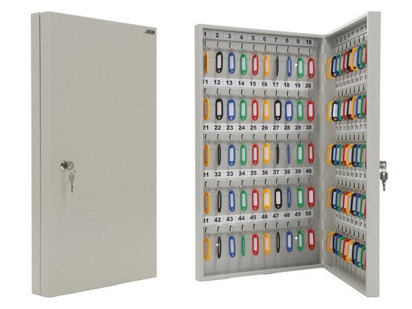 Ключница настенная металлическая KEY-100 Промет (100 брелоков в комплекте)