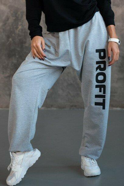 Спортивные штаны\брюки с черным принтом bp.011.03.01