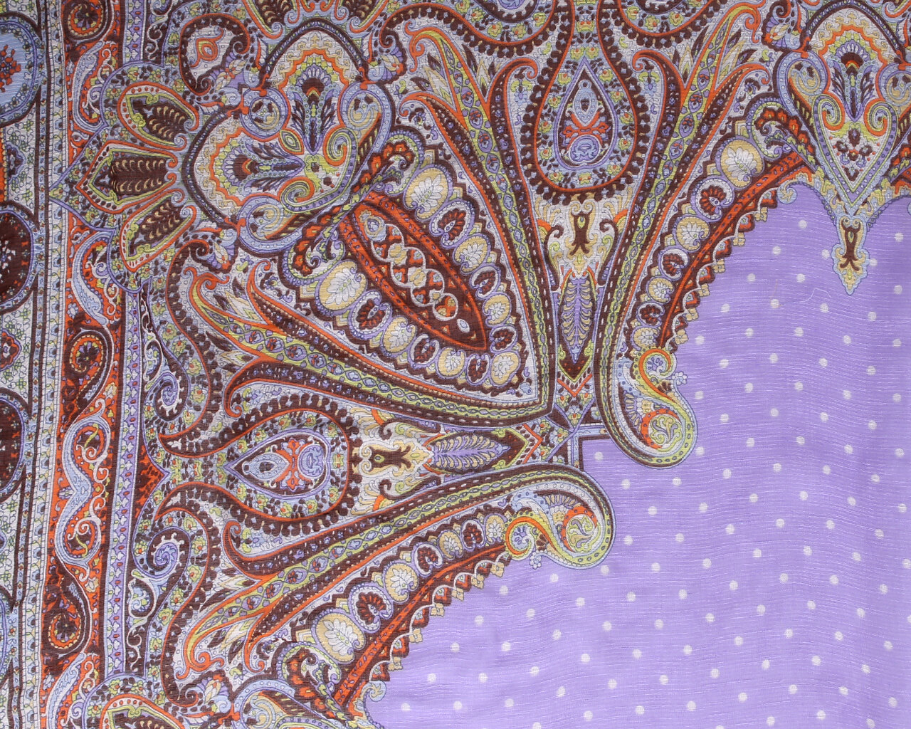 Платок Fabretti 73-3 фиолетовый