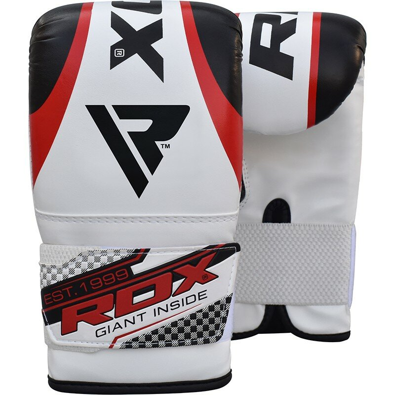 Снарядные перчатки RDX 1G Punching Bag Gloves красные