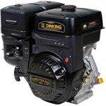 DINKING DK270F (W shaft), Двигатель бензиновый, 9 лс/6,62 кВт, шлицевой вал, ручной стартер