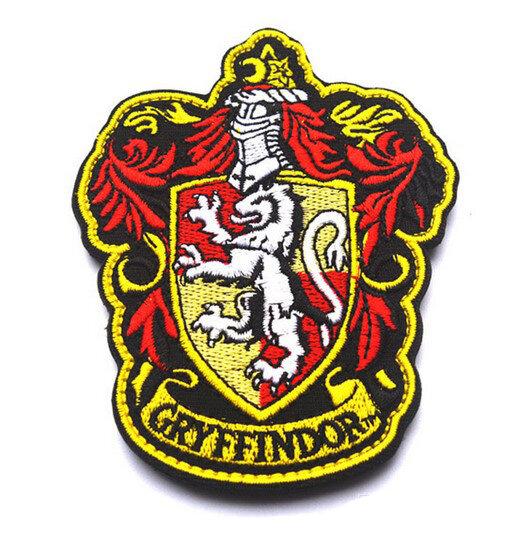 Нашивки Гарри Поттер факультеты Хогвартса (Факультет Гриффиндор)