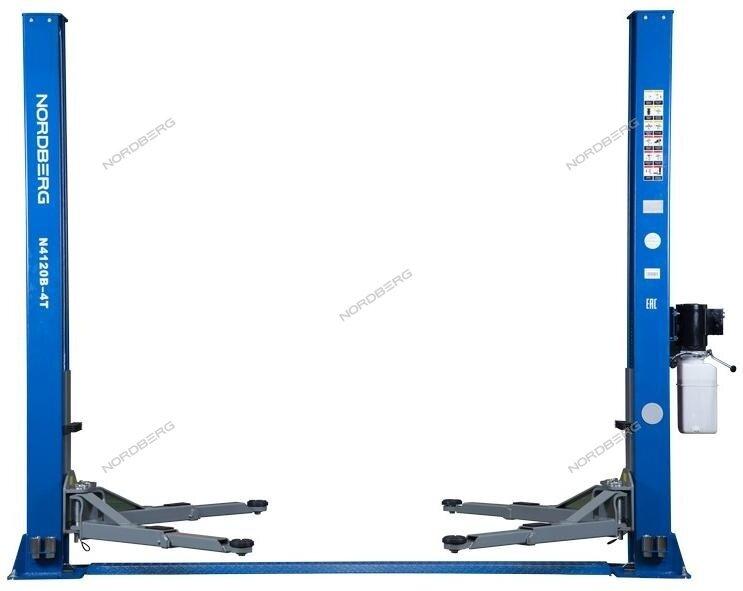 Двухстоечный подъемник 4 тонны NORDBERG N4120B-4T 220В