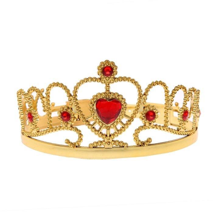 Золотая корона с камнями (UNI)