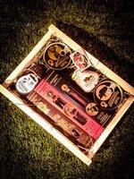 Подарочный набор для мужчин «крафт 2». Деликатесная продукция из мяса диких животных. Оригинальный и необычный подарок