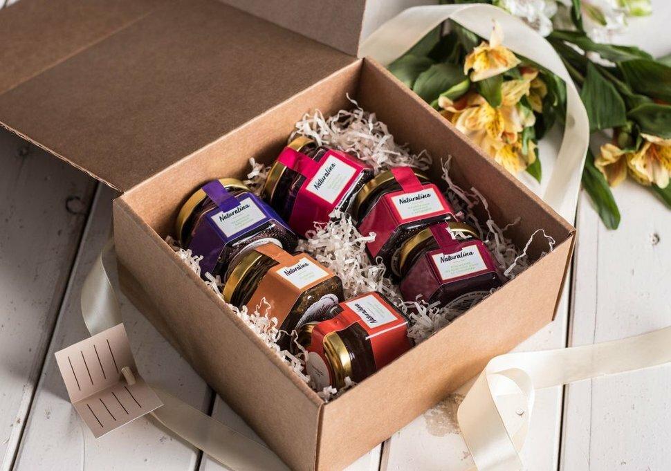 «Own Taste», 6 средних баночек в подарок на 8 марта