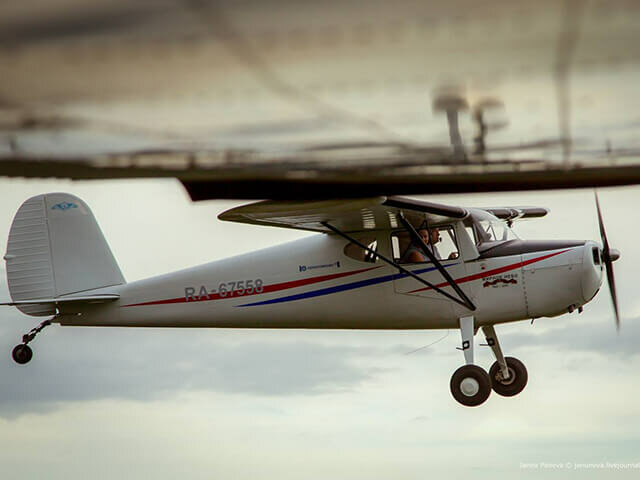 30 минут полета на Cessna 140