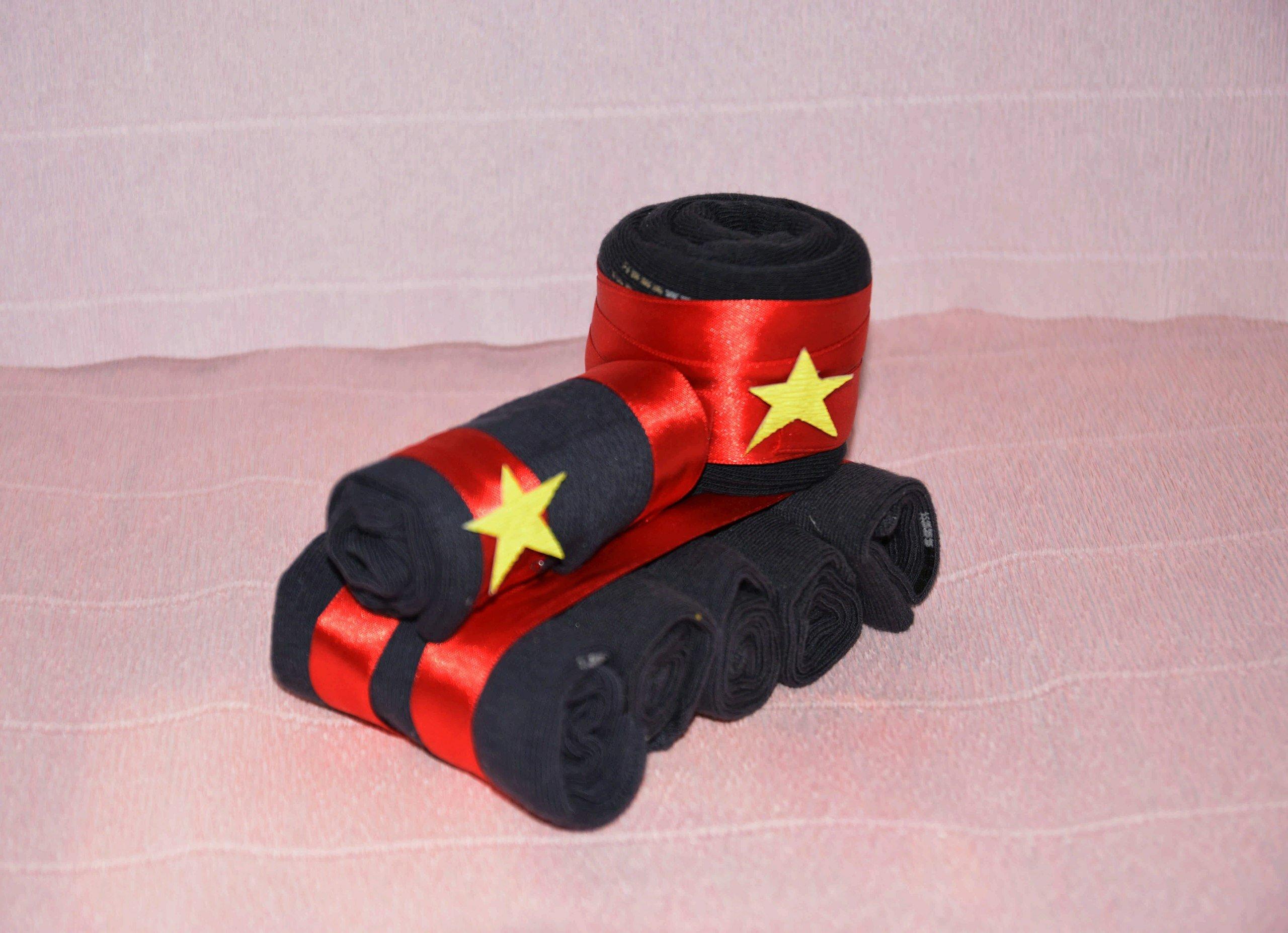 Подарочный набор носков Танк