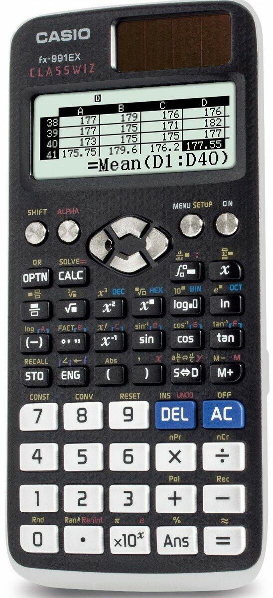 Калькулятор инженерный Casio FX-991EX Classwiz (FX-991EX-S-ET-V)
