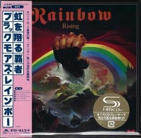 Rainbow - Rising/ CD [ 2 SHM-CD/ Cardboard Sleeve ( mini LP)/ + 7 Bonus Tracks/ + Obi Strip] [ Limited Deluxe Edition] ( Remastered, Reissue 2011)