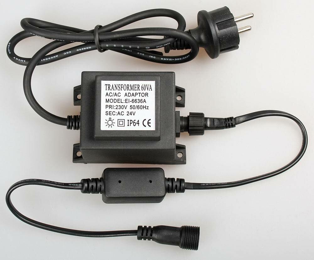 Трансформатор 22024 В 60 Вт, черный