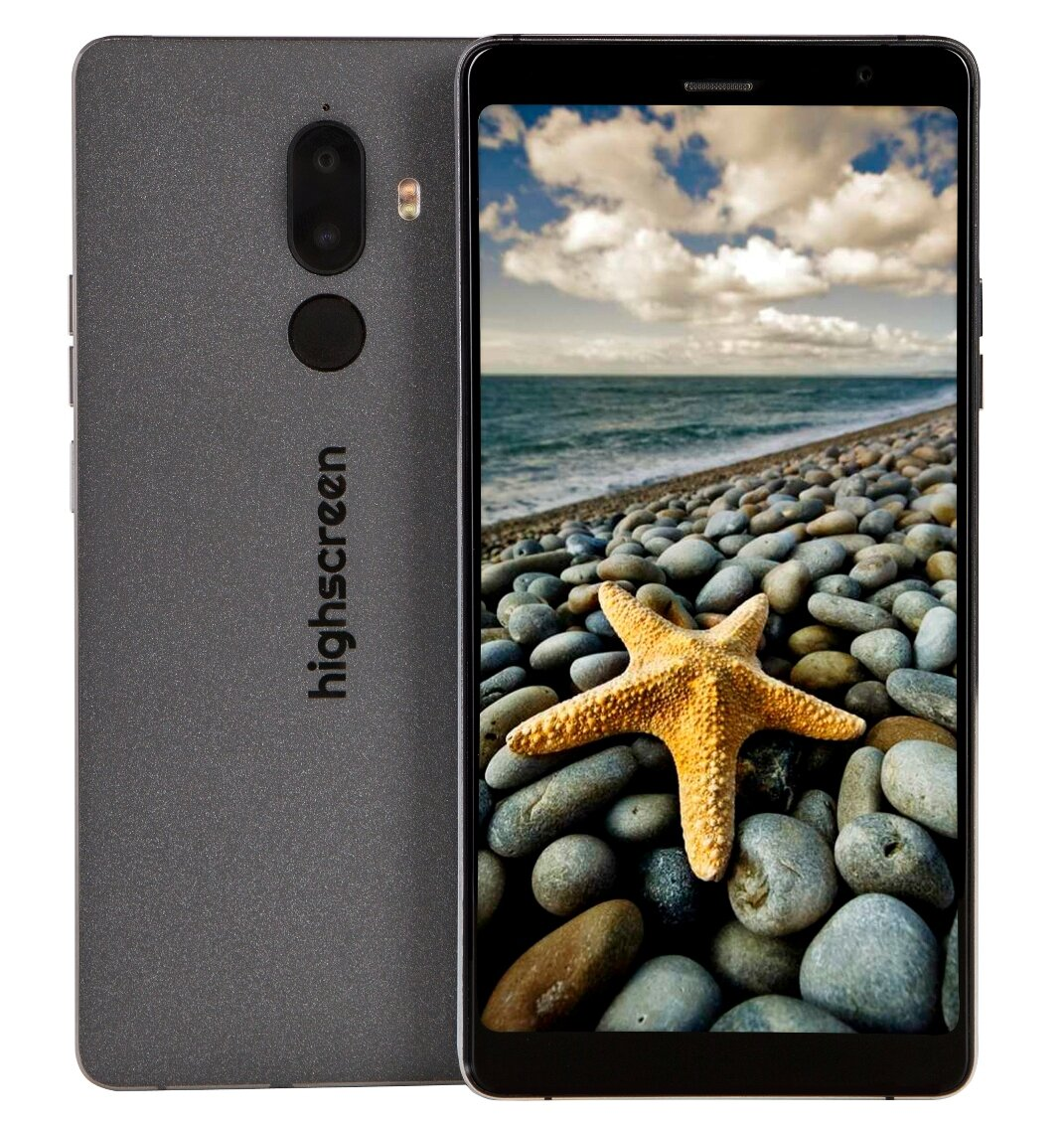 Мобильный телефон Смартфон Highscreen Power Five Max 2 3/32GB black
