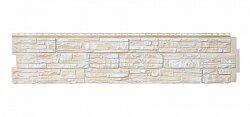 Фасадная панель (цокольный сайдинг) Grand Line Скала Слоновая кость