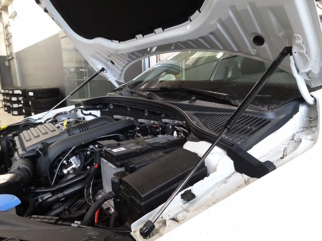 Упоры - Амортизаторы капота для Шкода Октавия А7 (Skoda Octavia A7) с 2013 года 2 шт. KU-SK-OKIII-00