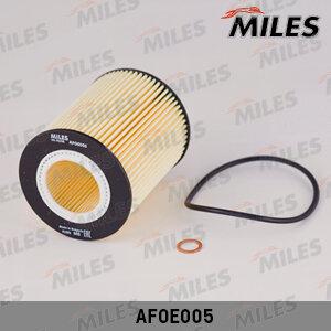 Фильтр масляный (вставка) (bmwe36/e39/e46/e60 2.0-4.0) AFOE005 Miles AFOE005