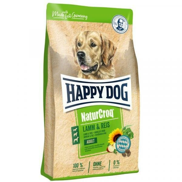 Happy Dog NaturCroq Lamm&Reis Сухой корм для собак Ягненок/Рис