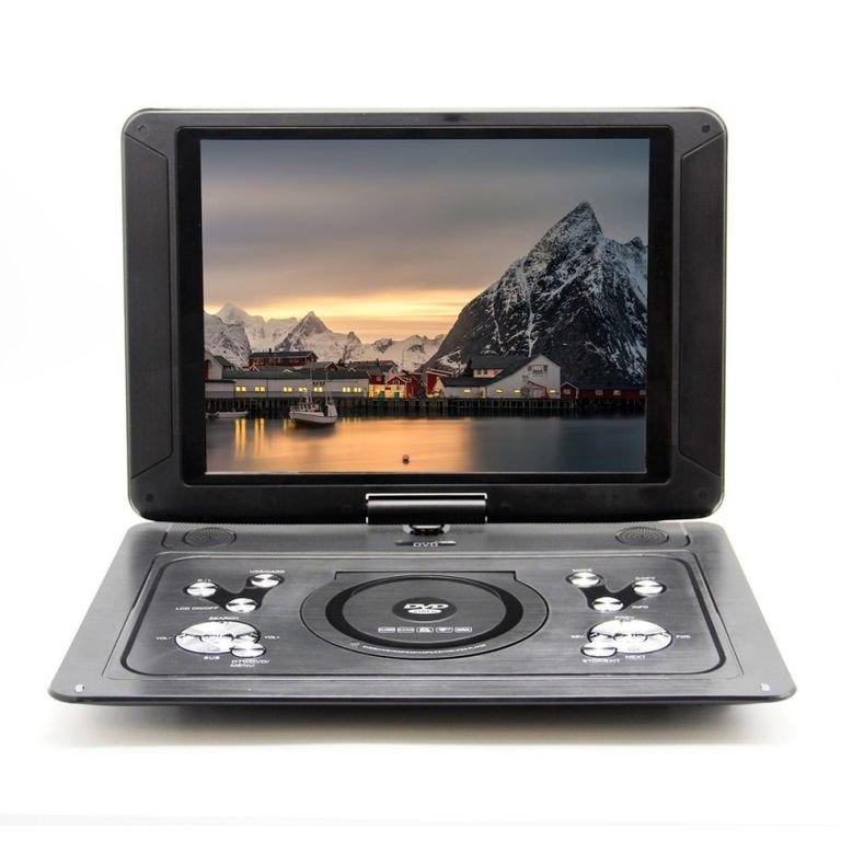 Портативный DVD плеер с цифровым тюнером Eplutus DVB-T2 LS-153T