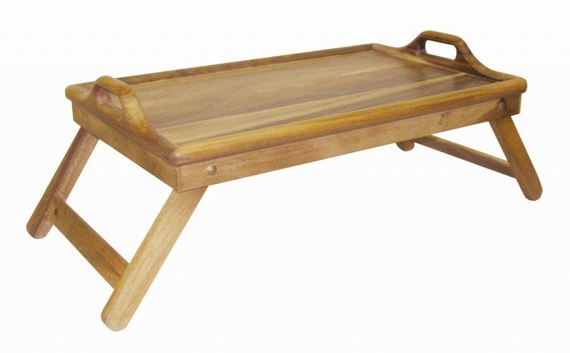 Столик для завтрака ORIENTAL WAY тонированный, 34х55 см