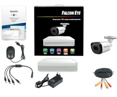 Комплект видеонаблюдения FALCON EYE 4CH + 1CAM KIT FE-104MHD START SMART