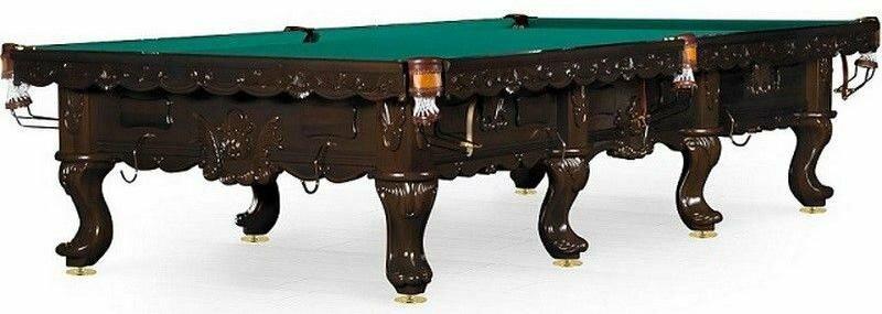 Бильярдный стол для снукера Weekend «Gogard» 12 ф (черный орех)