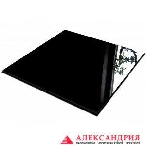 Акриловое стекло черное 3мм 2050x3050 мм