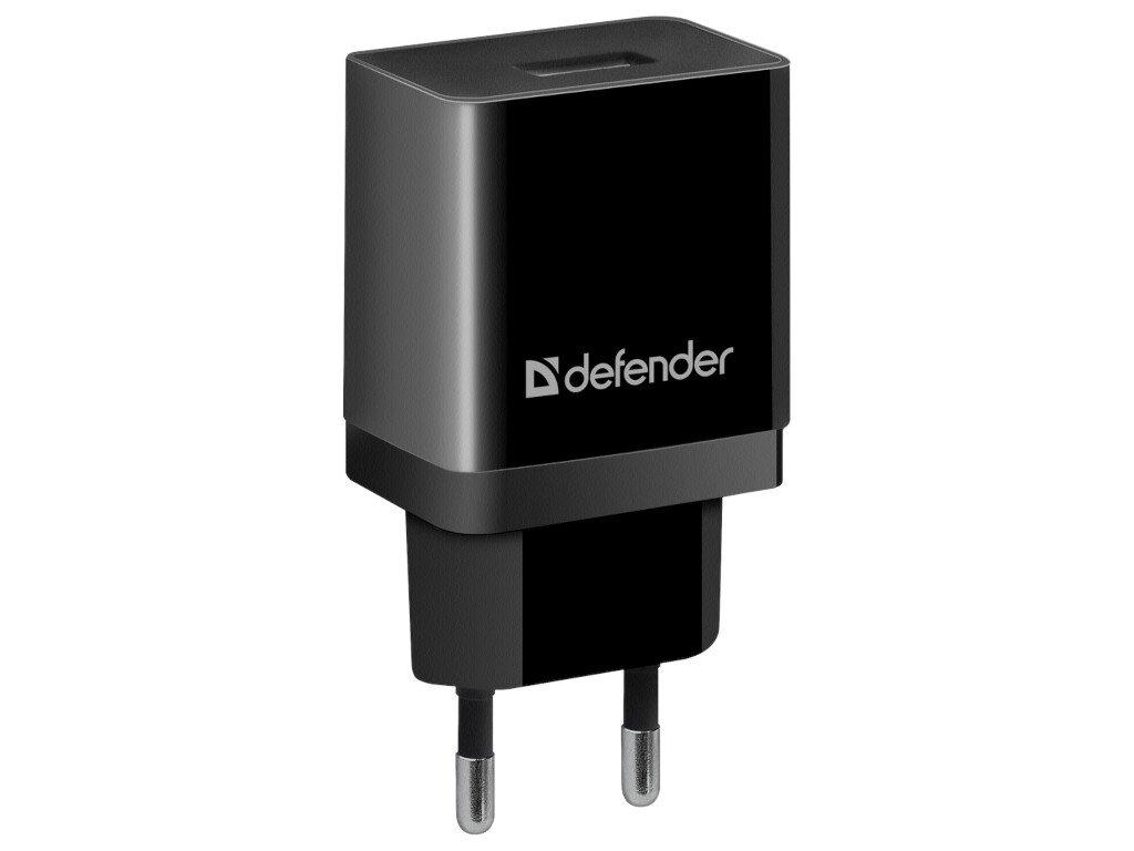 Зарядное устройство Defender UPA-21 1xUSB Black 83577