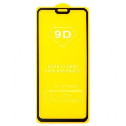 защитное стекло 9D для Huawei Honor 8X, черный Honor 8X