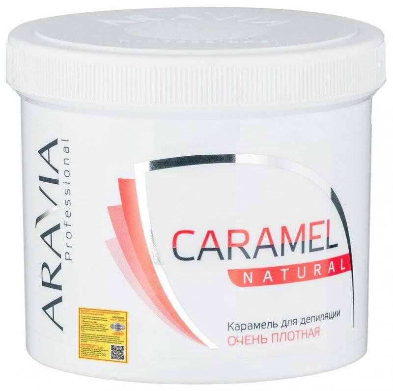 Карамель для депиляции ARAVIA PROFESSIONAL Натуральная, 750 гр.