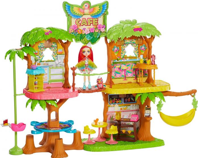 Игровой набор Mattel Enchantimals Джунгли-кафе GFN59 GNC57