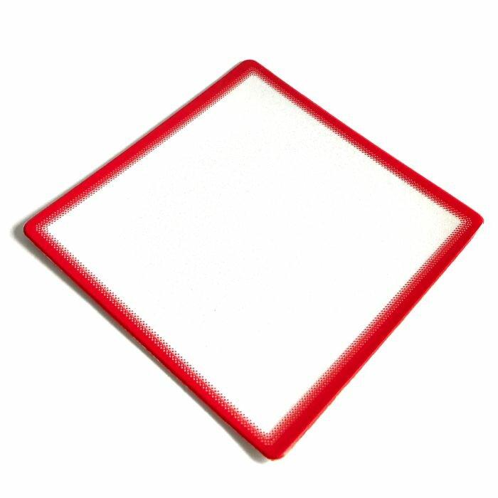 Заготовка коврика для мыши под полиграфическую вставку (Красный, 100 шт.)