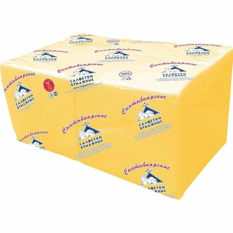Салфетки Profi Pack 2 сл. 24×24 желтые 250 шт./уп.