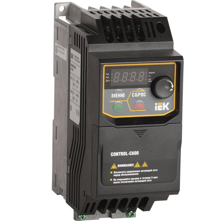 Преобразователь частоты CONTROL-C600 380В, 3Ф 0,40 kW